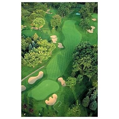 Terrain de golf, toile tendue, 24 x 36 po