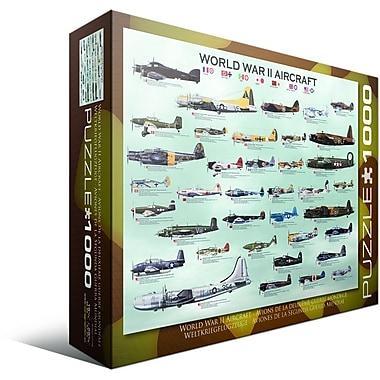 Casse-tête d'avions militaires de la Seconde Guerre mondiale, 1000 pièces