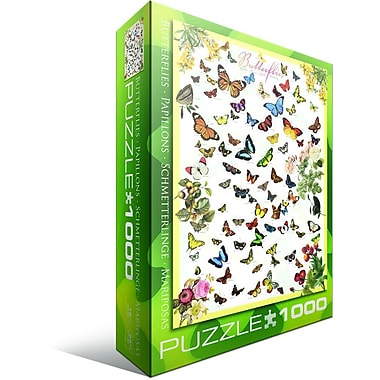 Casse-tête de papillons, 1000 pièces