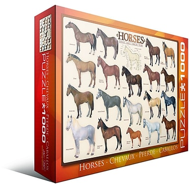 Horses Puzzle, 1000 Pieces