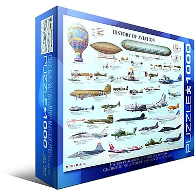 History of Aviation Puzzle, 1000 Pieces