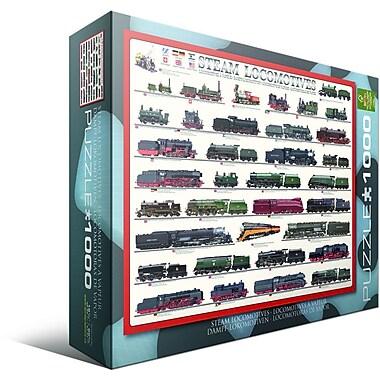 Steam Locomotives Puzzle, 1000 Pieces