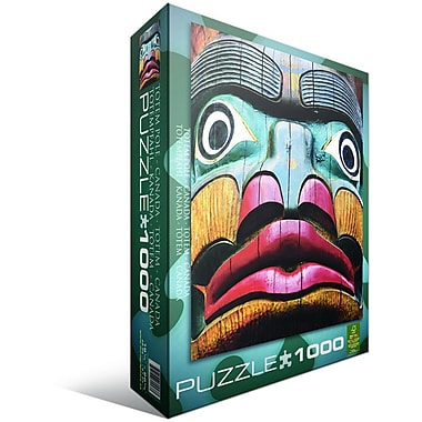 Totem Pole Puzzle, 1000 Pieces