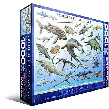 Vie marine préhistorique, casse-tête, 1000 pièces