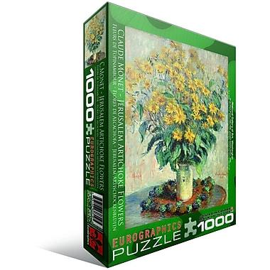 Fleurs de topinambours par Claude Monet, casse-tête, 1000 pièces