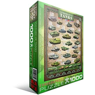 Casse-tête « L'histoire des chars d'assaut », 1000 morceaux