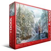 Balade de Noël en Nouvelle-Angleterre, casse-tête de 1000 morceaux