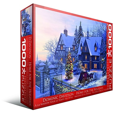Home for the Holidays Puzzle, 1000 Pieces