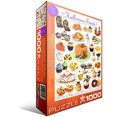 Halloween Treats Puzzle, 1000 Pieces
