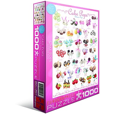 Cake Pops Puzzle, 1000 Pieces