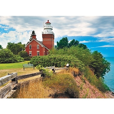 Big Bay Lighthouse, Michigan Puzzle, 1000 Pieces