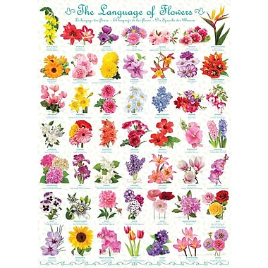 The Language of Flowers Puzzle, 1000 Pieces