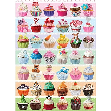 Cupcakes Celebration Puzzle, 1000 Pieces