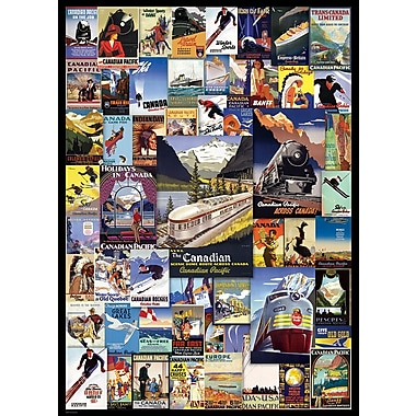 Canadian Pacific Adventures Puzzle, 1000 Pieces
