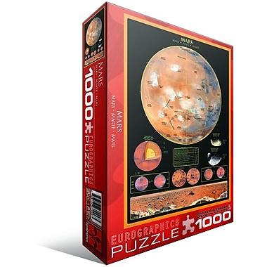 Casse-tête Mars, 1000 morceaux