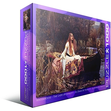 La Dame de Shalott de John William Waterhouse, casse-tête de 1000 morceaux