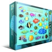Tropical Fish Puzzle, 1000 Pieces