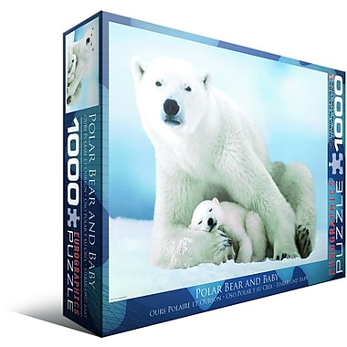 Polar Bear and Baby Puzzle, 1000 Pieces