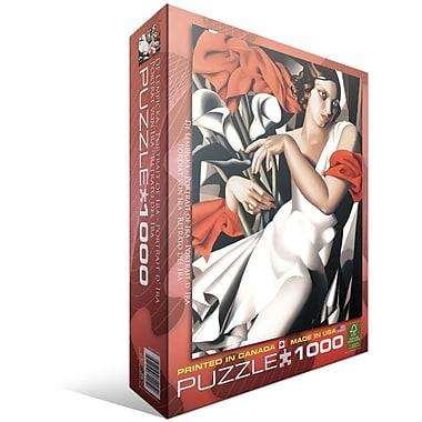 Portrait of Ira by Tamara de Lempicka Puzzle, 1000 Pieces