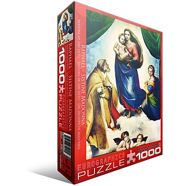 Sistine Madonna by Raphael Puzzle, 1000 Pieces