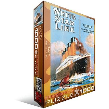 Titanic White Star Line Puzzle, 1000 Pieces