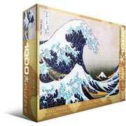 Great Wave Kanagawa by Hokusai Puzzle, 1000 Pieces