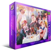 Luncheon of the Boating Pby Pierre Auguste Renoir Puzzle, 1000 Pieces