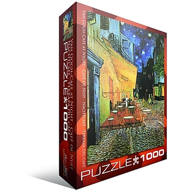 Van Gogh-Cafe at Night Puzzle, 1000 Pieces