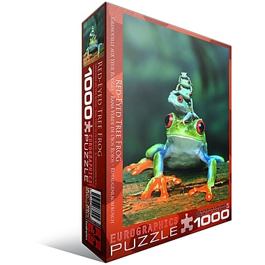 Red-Eyed Tree Frog Puzzle, 1000 Pieces