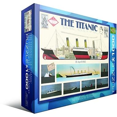 Casse-tête « Titanic », 1000 morceaux
