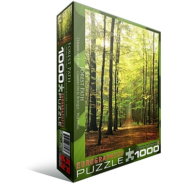 Forest Path Puzzle, 1000 Pieces