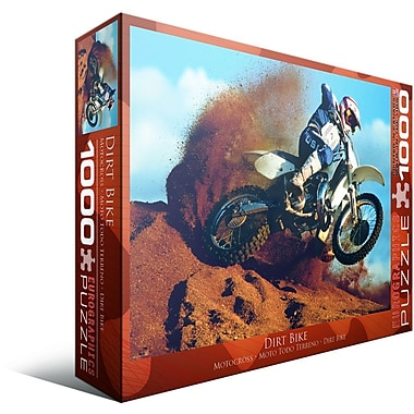 Moto hors route, casse-tête de 1000 morceaux