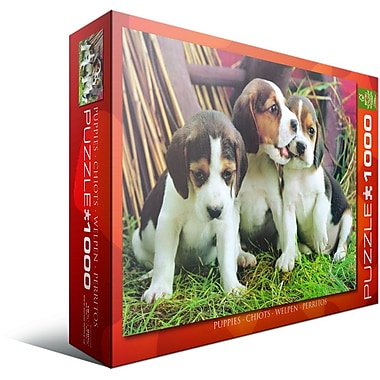 Puppies Puzzle, 1000 Pieces