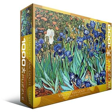 Irises by Vincent Van Gogh Puzzle, 1000 Pieces