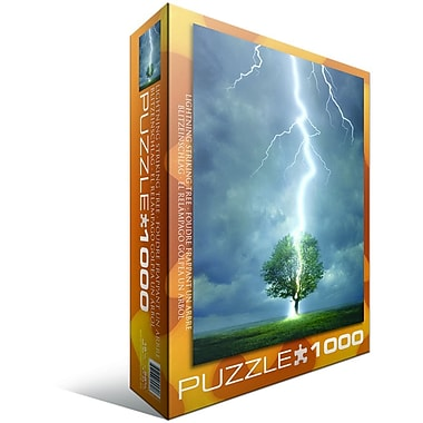 Lighting Striking Tree Puzzle, 1000 Pieces