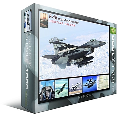 F-16 Fighting Falcon Puzzle, 1000 Pieces