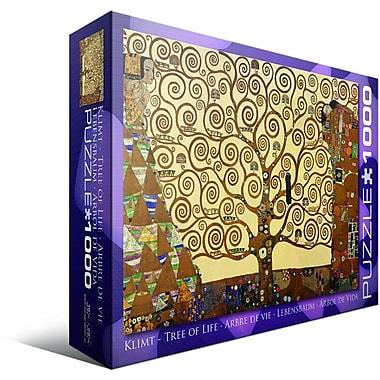 Casse-tête L'Arbre de vie de Gustav Klimt, 1000 morceaux