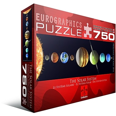 Solar System Jigsaw (Panorama) Puzzle, 750 Pieces