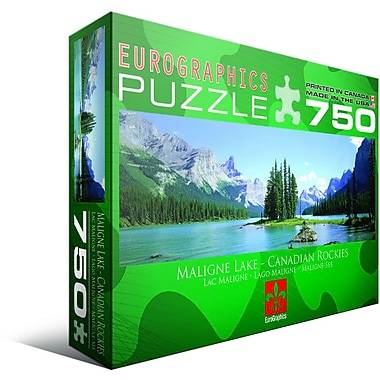 Maligne Lake Jigsaw Puzzle, 750 Pieces