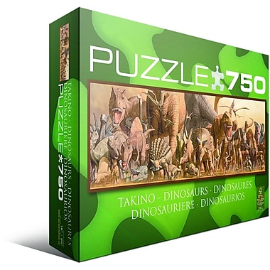 Dinosaurs Jigsaw Puzzle, 750 Pieces