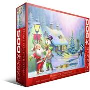 Casse-tête « À la maison pour Noël », 500 morceaux