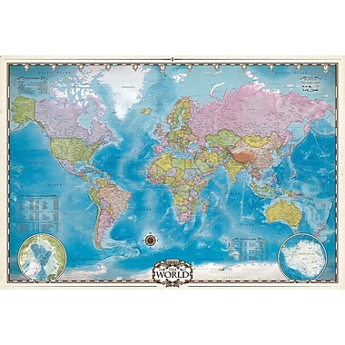 Map of the World Puzzle, 2000 Pieces