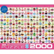 Cupcakes Galore Puzzle, 2000 Pieces