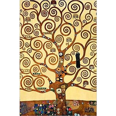 Klimt – Affiche imprimée, Arbre de vie, 36 x 24 po