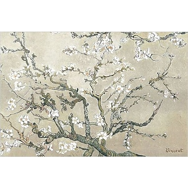Almond Branches Tan Art Print Poster by Van Gogh , 36