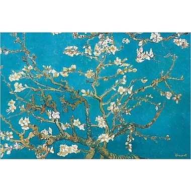 Almond Branches in Bloom Art Print Poster by Van Gogh , 36