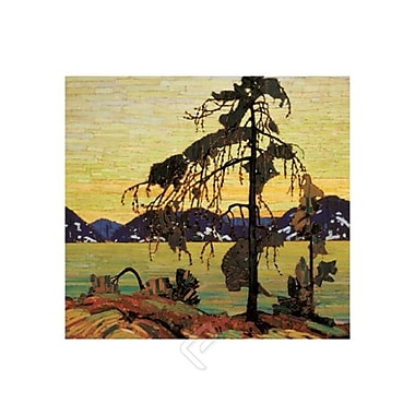 The Jack Pine Art Print Poster by Thomson , 30