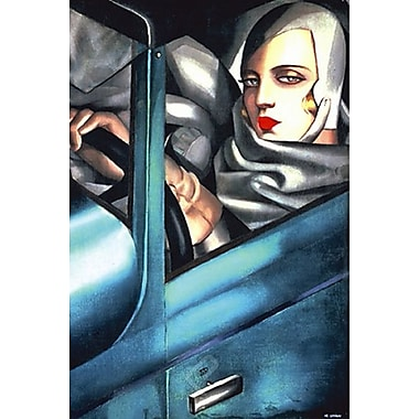 Self Portrait Art Print Poster by Lempicka , 27