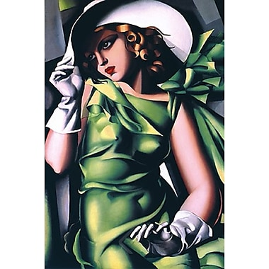 Young Girl Art Print Poster by Lempicka , 24