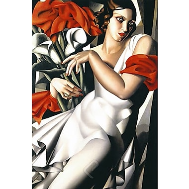 Portrait of Ira Art Print Poster by Lempicka , 24